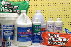 Pool Chemicals, all of which are competitively priced!