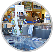 Monarch Pools & Spas retail store