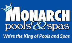 Monarch Pools & Spas logo