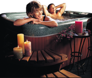 Hot Tub Romance and Relaxation Rolled Together