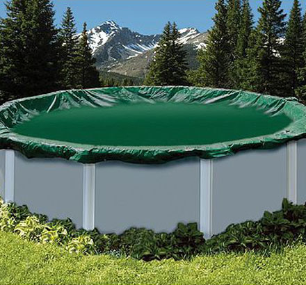 Above-Ground Winter Pool Covers in NJ - Monarch Pools & Spas